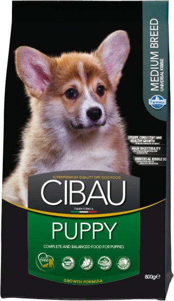 CIBAU Puppy Medium 800g + 800g gratis