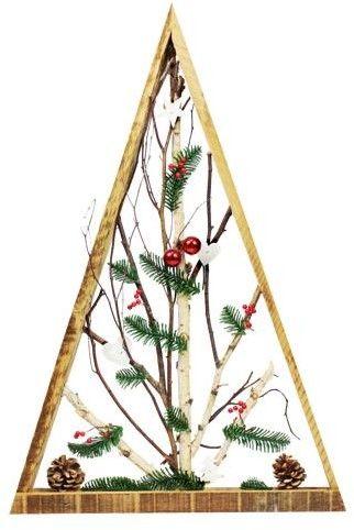 Stroik Bożonarodzeniowy w ramie Trójkątnej