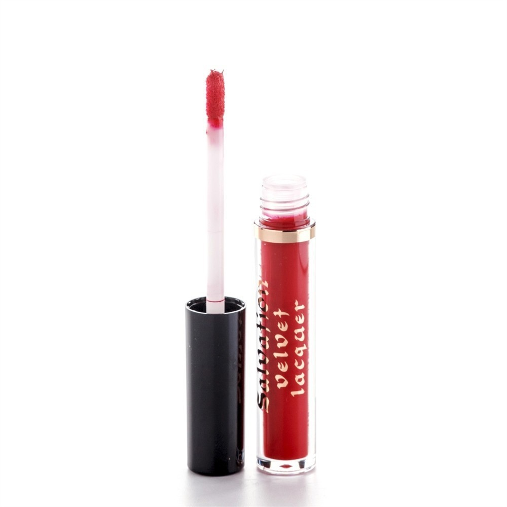 Makeup Revolution Salvation Velvet Lip Lacquer Błyszczyk do ust Keep trying for you