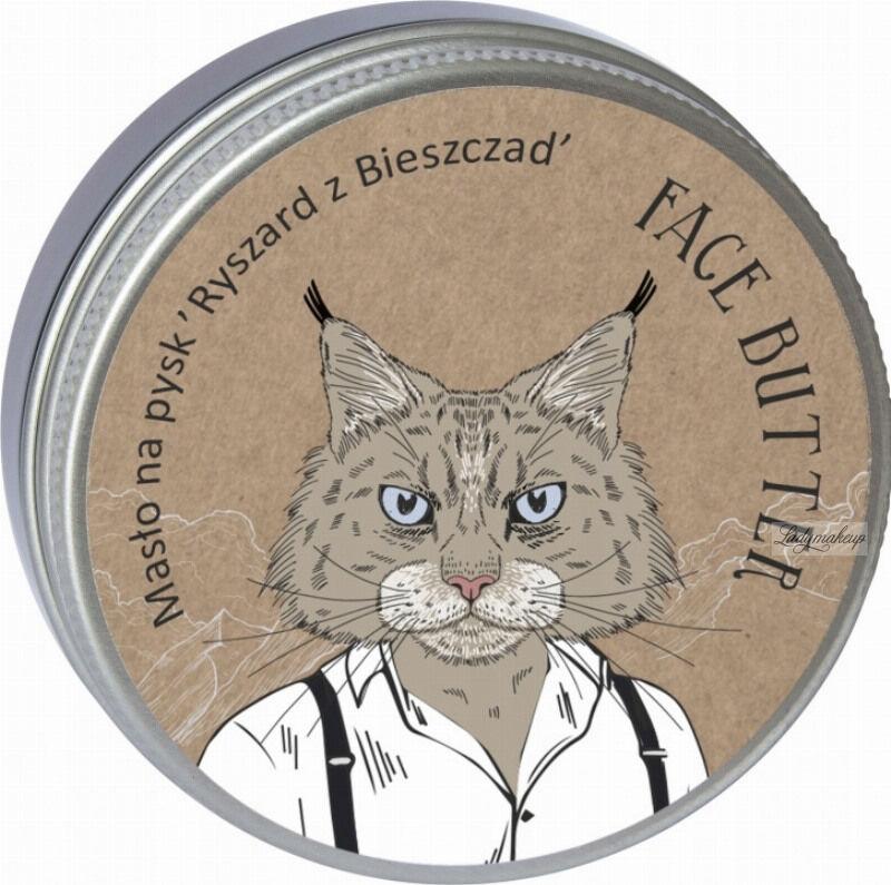 LaQ - Face Butter - Masło do twarzy dla mężczyzn - Ryszard z Bieszczad - 50 ml