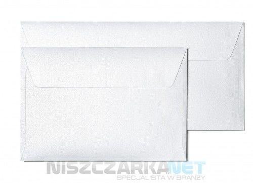 Koperta / koperty ozdobne kwadrat 158x158mm KW158 - MILLENIUM BIAŁY opk 10szt 120g/m2