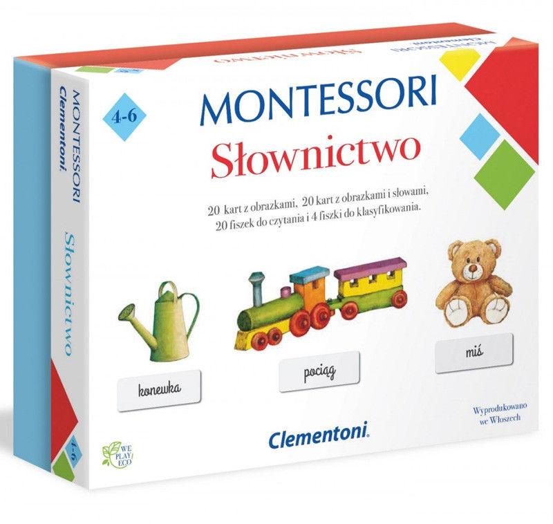 Clementoni - Montessori Slownictwo 50077