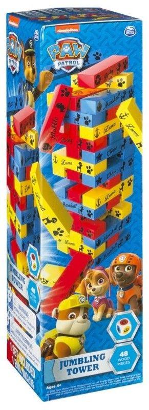 Spin Master - Gra wieża Jenga Psi Patrol 20103371 6035863