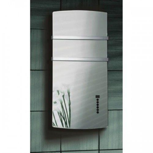 Lustro - grzejnik łazienkowy elektryczny 1500W, 52x105x12,5cm