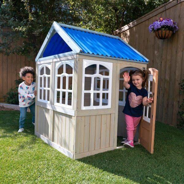 Drewniany domek ogrodowy Cooper KKP280115-KidKraft, zabawy w plenerze