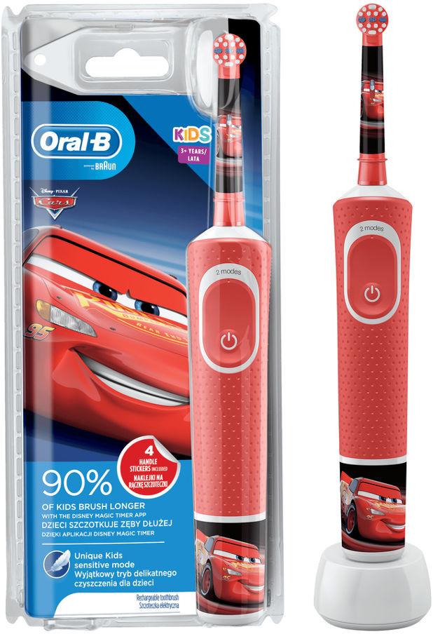 BRAUN Oral-B Vitality D100 Kids CARS - szczoteczka elektryczna dla dzieci Oral-B