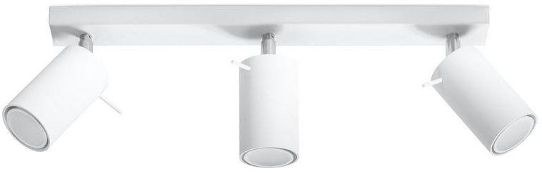 Sollux - plafon ring 3 - biały