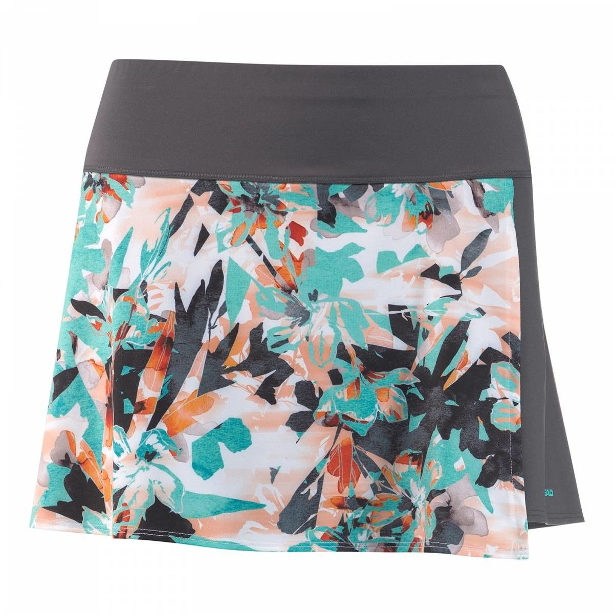 Head Vision Graphic Skirt W - turquoise/anthracite