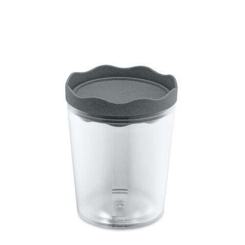 Pojemnik na żywność Prince M 0.75l organic deep grey Koziol