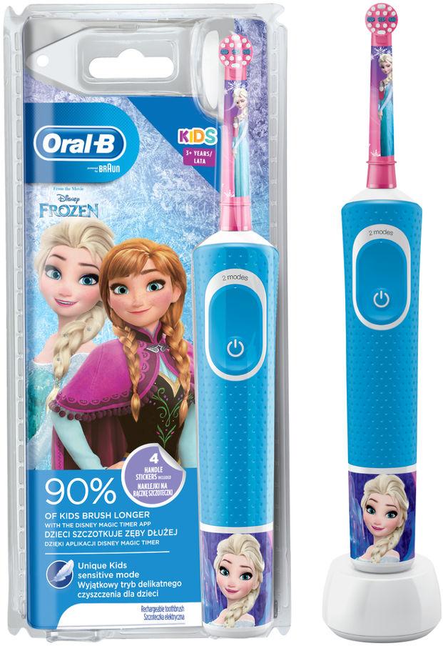 BRAUN Oral-B Vitality D100 Kids FROZEN - szczoteczka elektryczna dla dzieci Oral-B