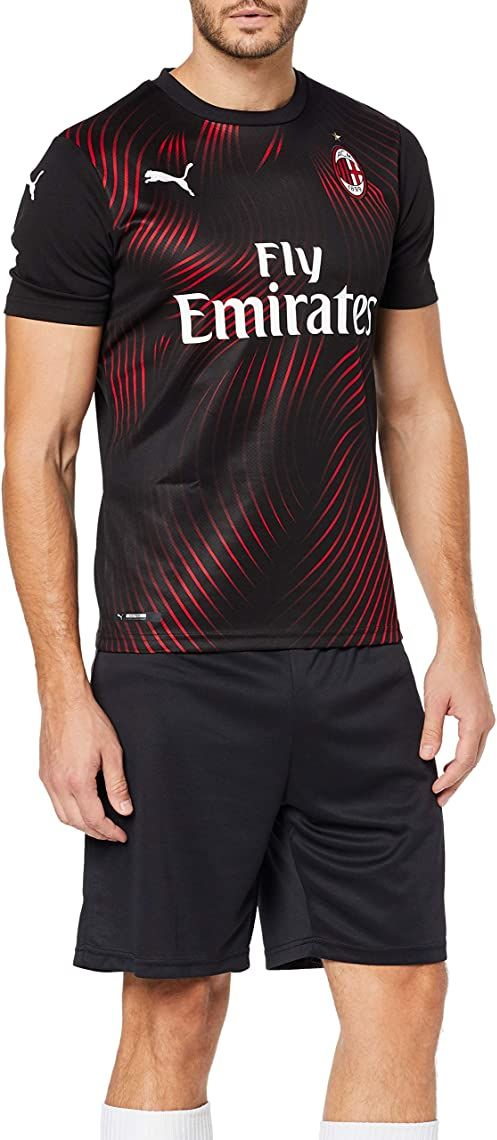 PUMA męska koszulka Ac Milan 1899 Third Shirt Repl. Top1 Player czarny Puma Black/Tango Red S