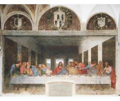 Puzzle 1000el Museum Leonardo CLEMENTONI 31447