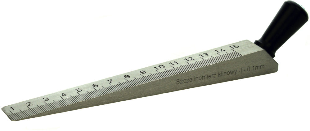 Szczelinomierz Klinowy 150mm (0,1mm)