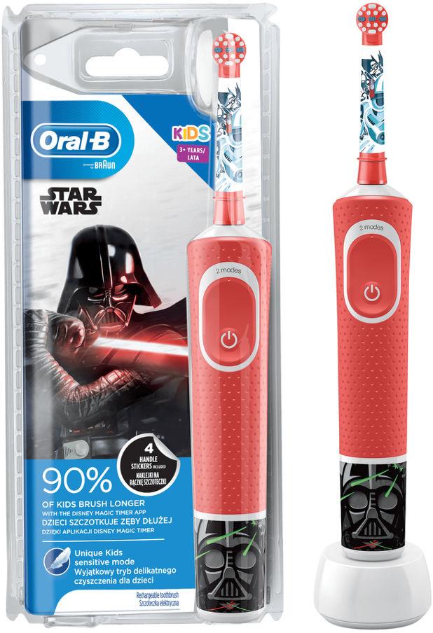 BRAUN Oral-B Vitality D100 Kids STAR WARS - szczoteczka elektryczna dla dzieci Oral-B