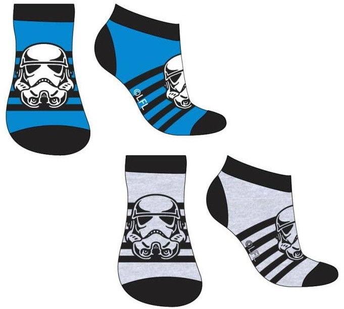 Skarpetki stopki chłopięce GWIEZDNE WOJNY (Star Wars) Komplet - 2 pary