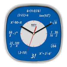 Zegar kwadratowy matematyka #1