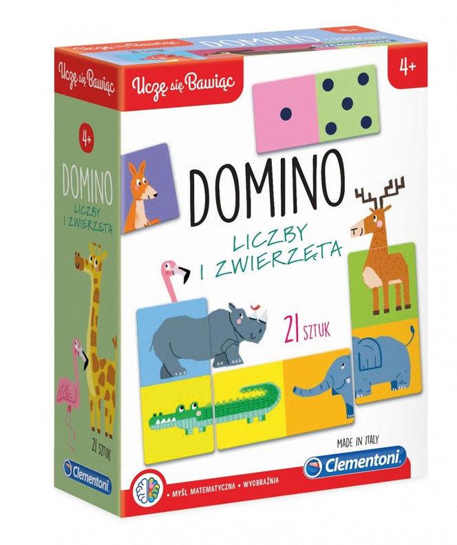 Clementoni Domino Liczby i zwierzęta 50083