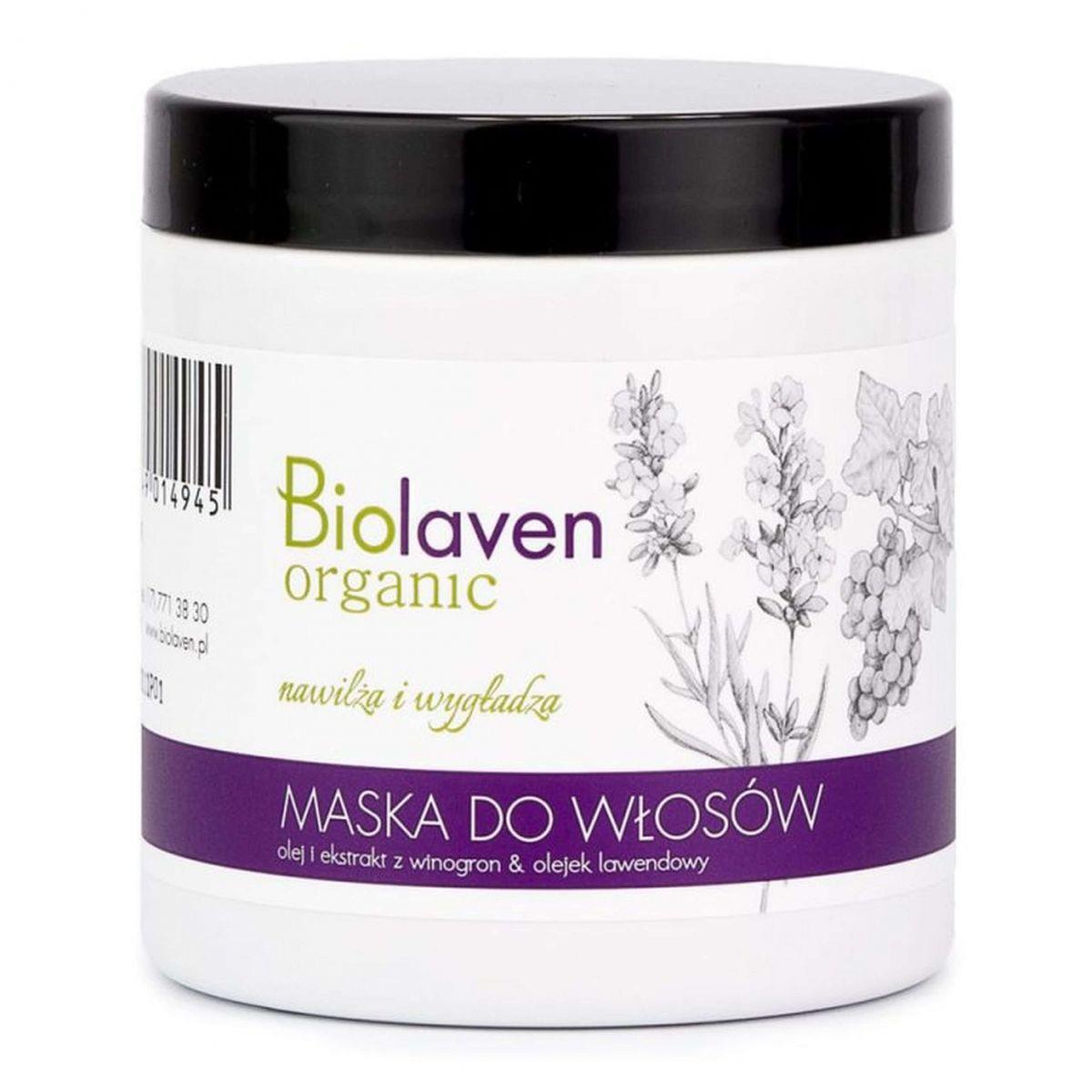 Maska do włosów - 250ml - Biolaven