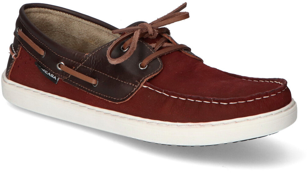 Buty żeglarskie Pegada 115752-09 Bordowe nubuk