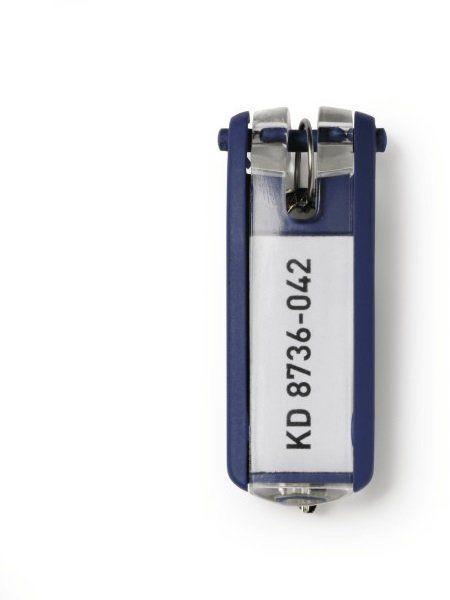 Zawieszki do kluczy DURABLE niebieskie (6)