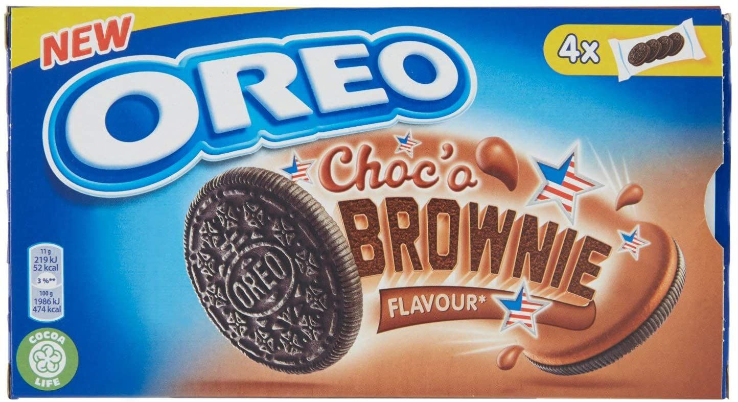 Ciasteczka OREO Choco Brownie Bisquits 176g 400g