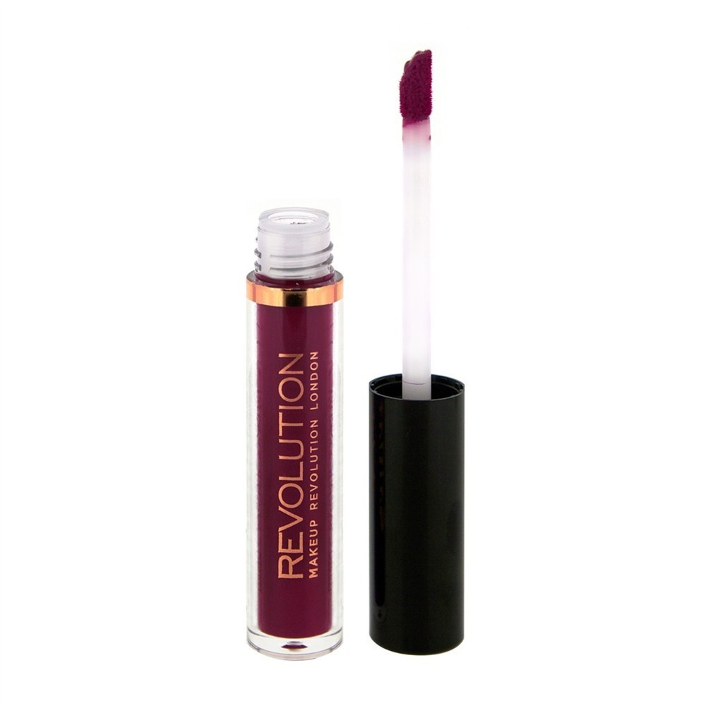 Makeup Revolution Salvation Velvet Lip Lacquer Błyszczyk do ust Rebel