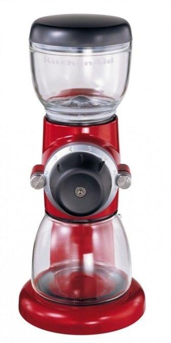 KitchenAid - Młynek do kawy Artisan Czerwony