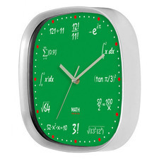 Zegar kwadratowy matematyka #2