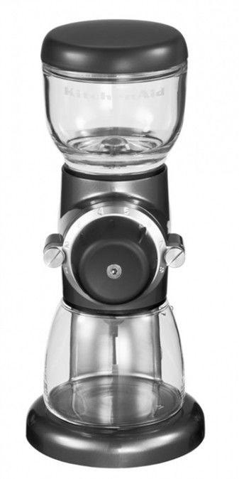 KitchenAid - Młynek do kawy Artisan Srebrzystopopielaty