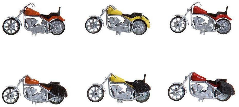 180603 - Faller H0 - 6 motocykli