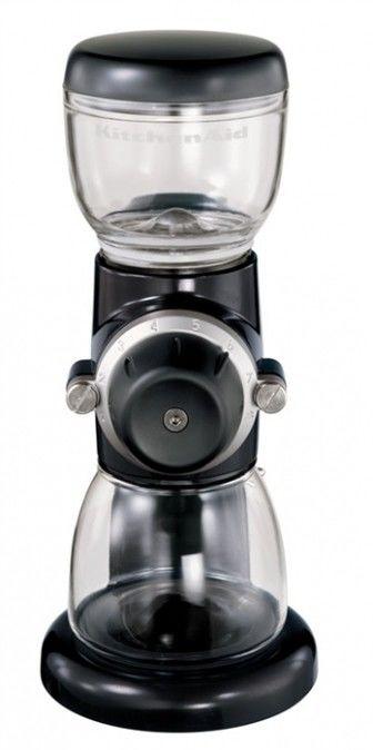KitchenAid - Młynek do kawy Artisan Czarny