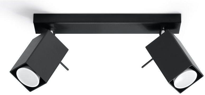 Sollux - plafon merida 2 - czarny