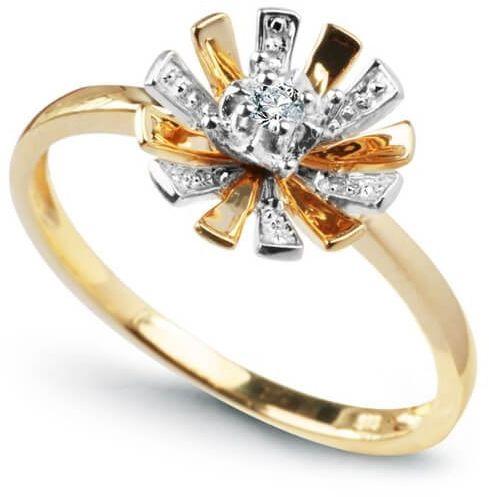 Złoty pierścionek PXD1876 - Diament