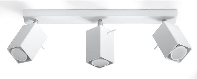 Sollux - plafon merida 3 - biały