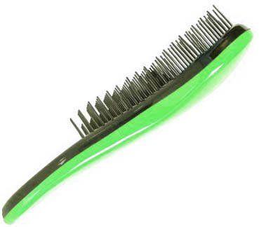 Szczotka do włosów Detangler D Tangle zielona