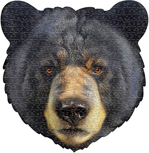 Madd Capp Puzzle - ''I AM Bear'' - 550 sztuk - puzzle w kształcie zwierzęcia