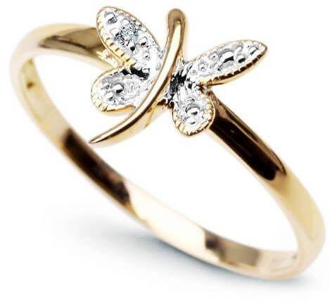 Złoty pierścionek PXD1891 - Diament