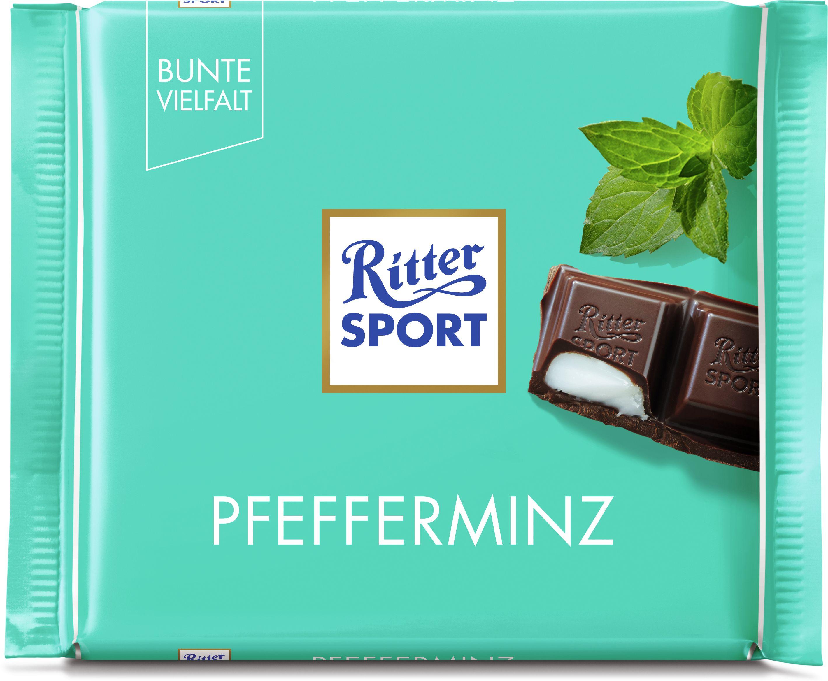 RITTER SPORT czekolada mleczna pfefferminz