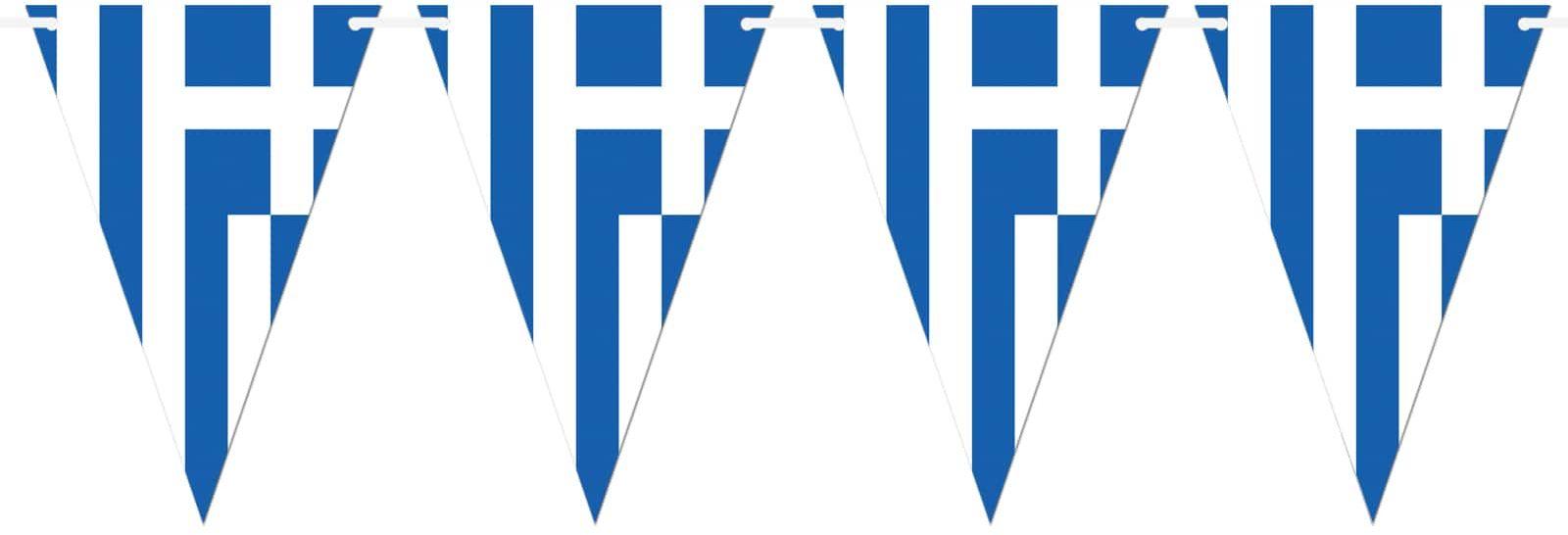 Baner wiszący Flaga Grecji - 5 m