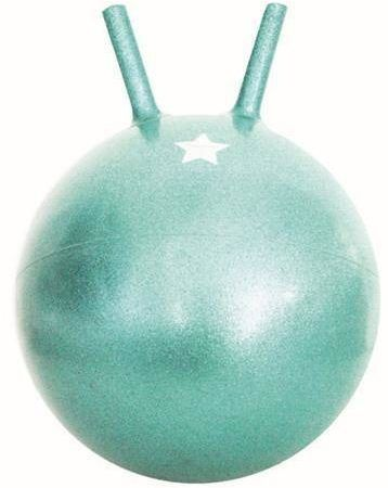 Piłka do skakania glitter green