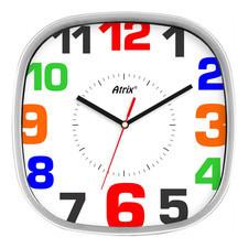 Zegar naścienny kwadratowy #4