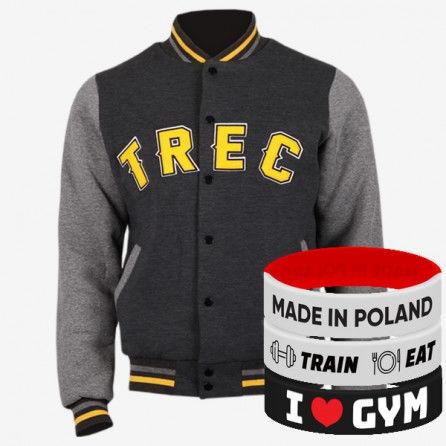 Trec Wear - Kurtka JACKET 005 SLIM GRAPHITE