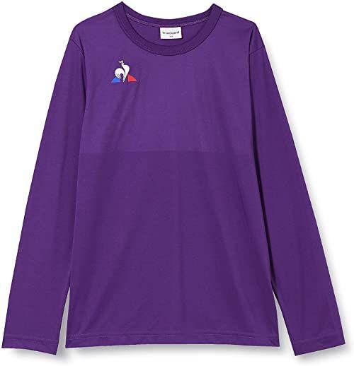 Le Coq Sportif damska N 1 Maillot Match Enfant Ml Violet J T-shirt, 6A