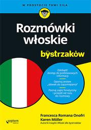 Rozmówki włoskie dla bystrzaków - dostawa GRATIS!.