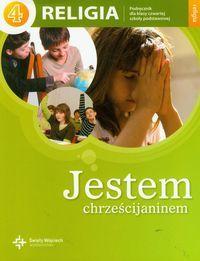 Religia jestem chrześcijaninem podręcznik dla klasy 4 szkoły podstawowej AZ-21-01/10/P0-1/11 ZAKŁADKA DO KSIĄŻEK GRATIS DO KAŻDEGO ZAMÓWIENIA