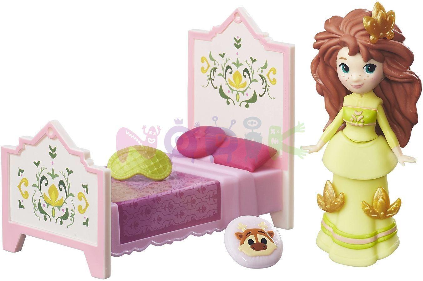 Disney mini Królestwo - Księżniczka Anna z łóżkiem B7462 B5188