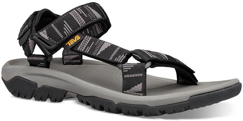 Męskie sandały turystyczne Teva Hurricane XLT2 chara black/grey