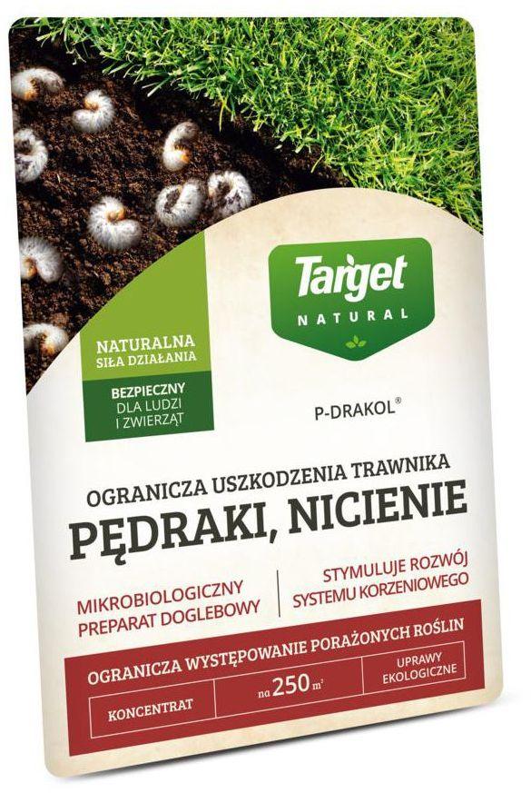 Środek odstraszający nicienie i pędraki P- DRAKOL 20 g TARGET NATURAL