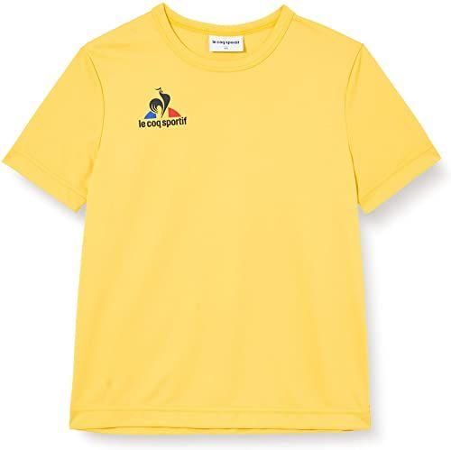 Le Coq Sportif N 1 Maillot Match Enfant Mc podkoszulek, oryginalny żółty, 10A