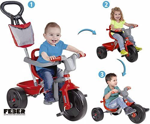 FEBER - EVO Trike Plus Sport 3 w 1. Ewolucyjny rower trójkołowy (Famosa 800010946)